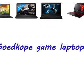 Goedkope game laptops