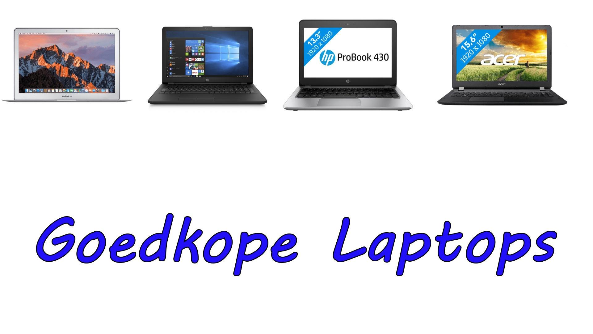 Goedkope laptops