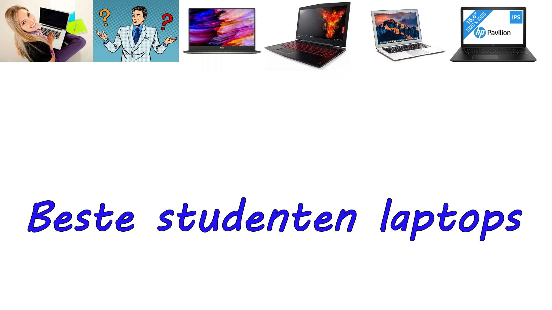 Studenten laptops