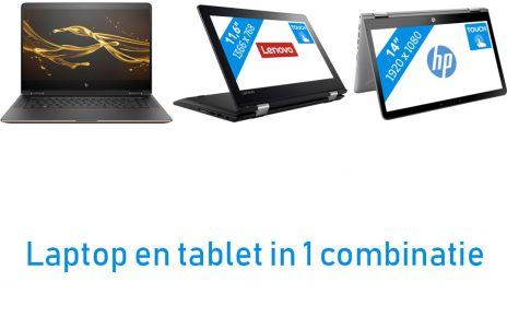 Beste laptop en tablet in 1 combinatie artikel