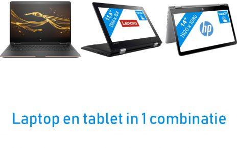 Beste laptop en tablet in 1 combinatie artikel