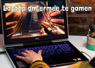 Laptop om ermee te gamen