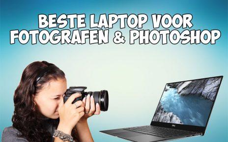 De beste laptop voor fotografen en fotobewerking in Photoshop