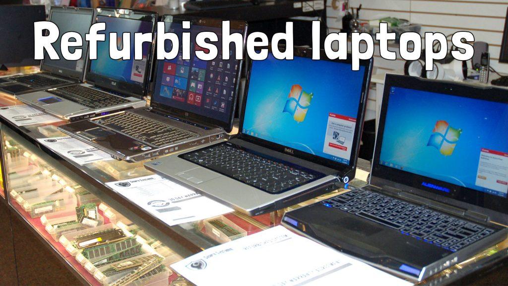 Refurbished laptops te koop