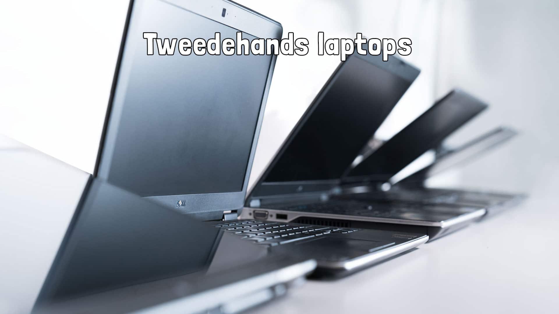 Tweedehands laptops te koop