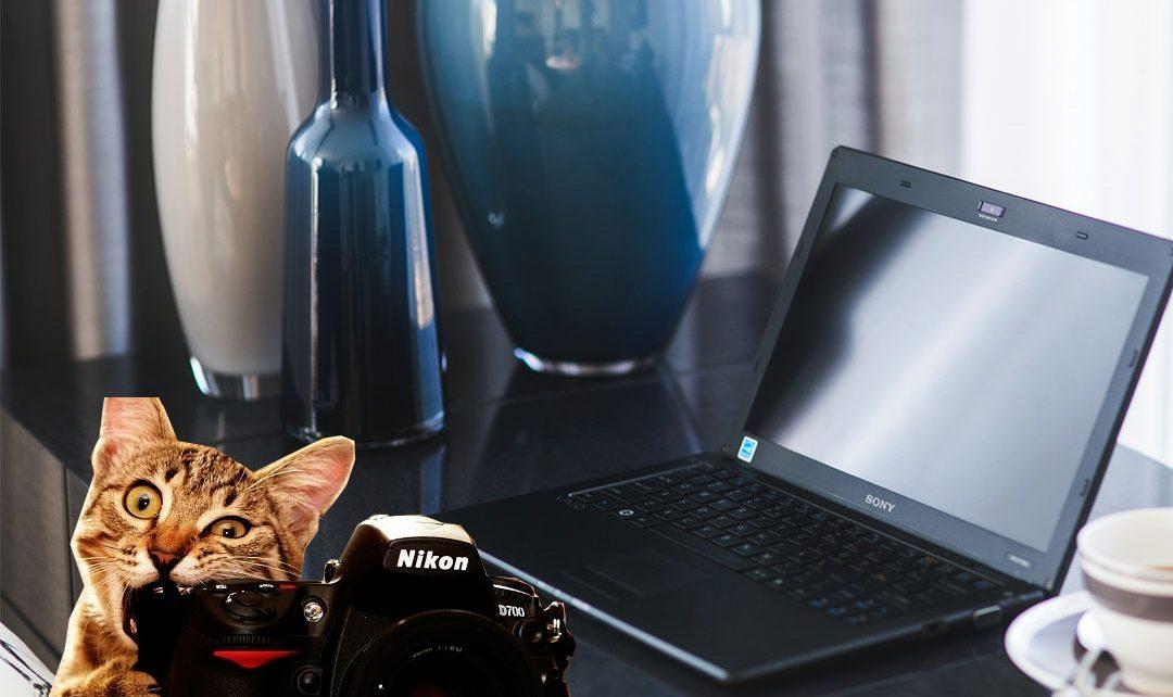 Een laptop voor fotobewerking als fotograaf