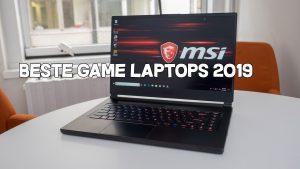 Beste game laptop 2019
