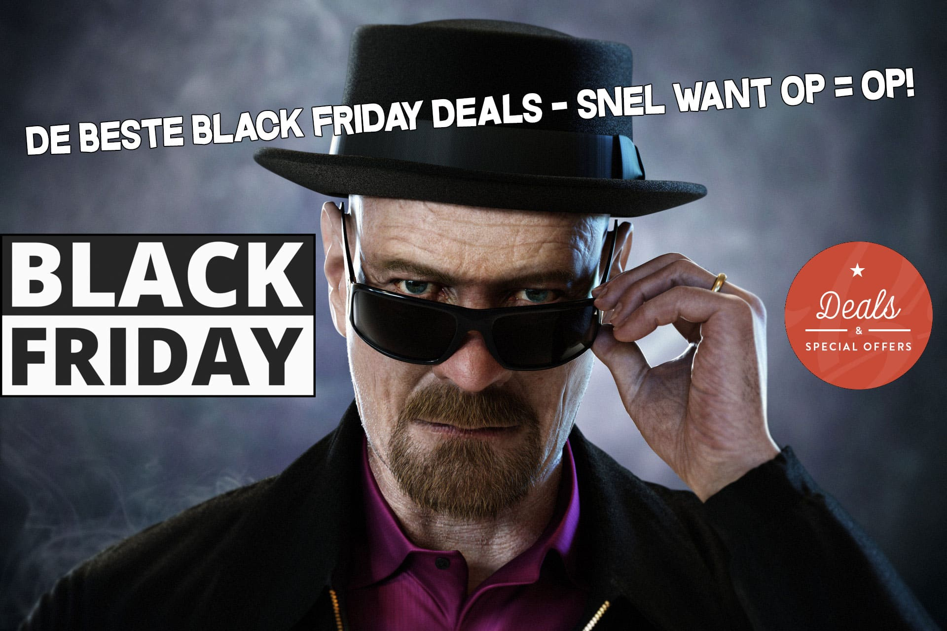 Black friday 2019 deals in Nederland