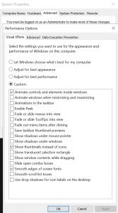 Laptop is traag - sneller maken met My performance opties settings - laptop sneller maken en niet meer traag