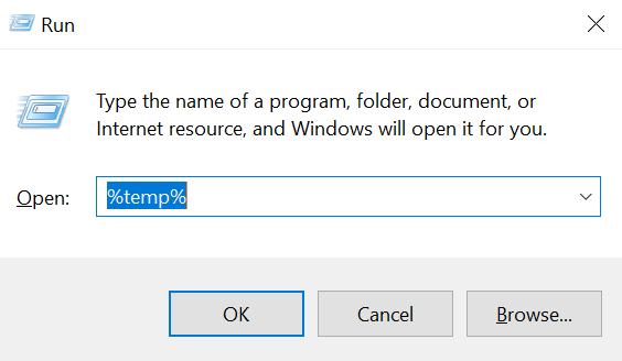 Laptop is erg traag - Run temp