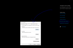 Laptop is erg traag - sneller maken This pc properties - laptop sneller maken
