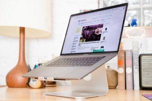 Ergonomisch werken met een laptop