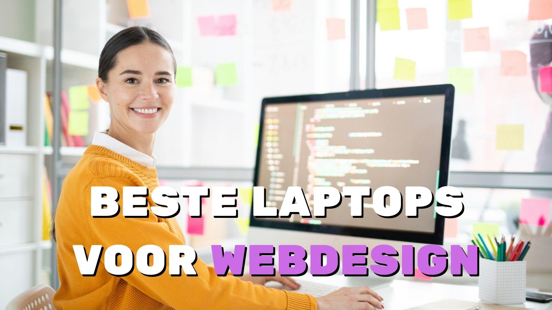 Beste laptops voor webdesign